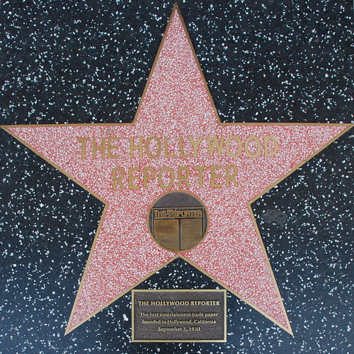 The Hollywood Reporter's Walk of Fame Star
