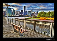 The view (Flickr Explore) (NYC sharpshooter) Tags: nyc love water colors buildings gold star perfect photographer skyscrapers pics quality piers picture parks award eastriver pixels unforgettable hdr the queensny supershot mywinners theunforgettablepictures goldstaraward