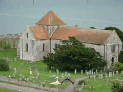 Church inside Portchester 2 (Gauis Caecilius) Tags: england castle roman britain medieval norman portchester