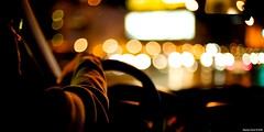 Taxi (Stephan Geyer) Tags: street vegas orange yellow canon dark 50mm lasvegas bokeh taxi streetphotography mysterious 5d canon5d 5014 ef50mmf14usm canoneos5d canon5dclassic