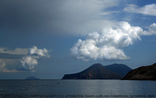 Salina,Panarea and Filicudi Islands. 2008