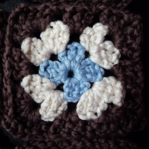 organic cotton crochet baby blanket