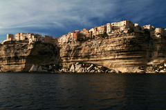 Bonifacio (Markus Moning) Tags: old city trip sea sky cliff sun rock canon buildings boot eos 350d boat town amazing meer corse corsica himmel stadt fels altstadt sonne gebude lage position bonifacio moning korsika klippe markusmoning flickrclassique