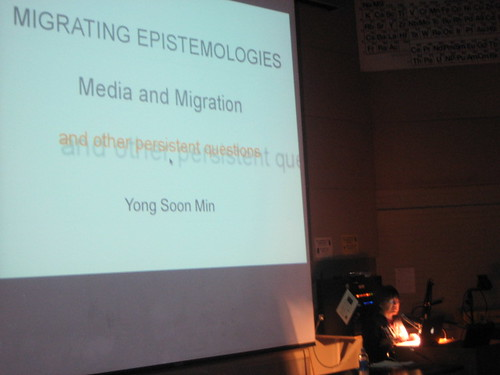 11.14.08 Artist Yong Soon Min lecture