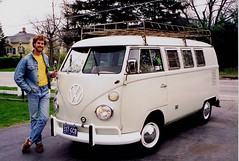Me and my 1967 VW Camper (63vwdriver) Tags: bus vw vintage volkswagen 1967 camper microbus westfalia