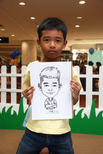 caricature live sketching for West Coast Plaza day 2 - 24