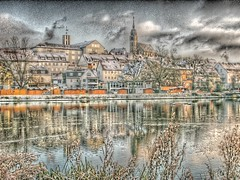 Winter Fattal (photon_de) Tags: winter lake bblingen hdr g9 fattal