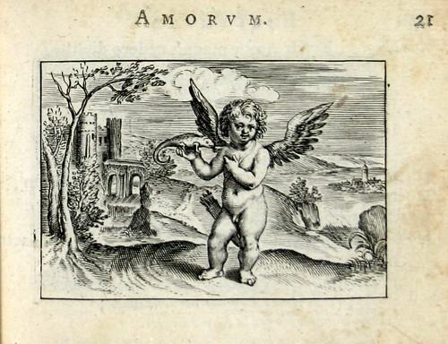 009 Omnis amatorem decuit color- Cupido con un camaleón