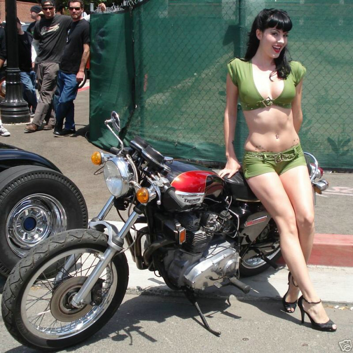 Girls And Bikes Thread Or Sexy Girls And Bikes Thread