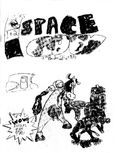 Space Cow cover