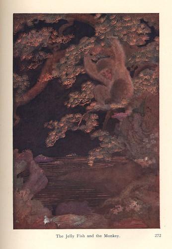 005- Mitos y leyendas de Japon-Leyendas de animales-La medusa y el mono-contraste corregido