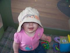 "Wearing my old ""norman"" hat (Ludeman99) Tags: eowynlouisebitner"