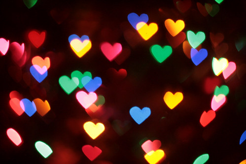 More heart bokeh