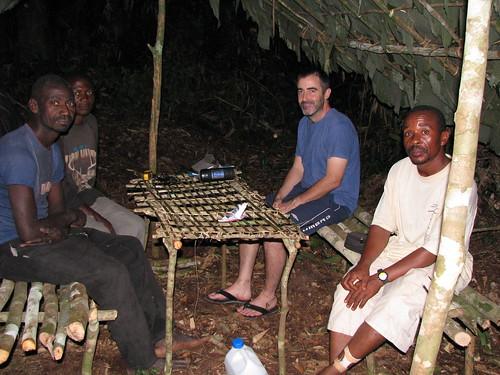 "The Camp Bonobo ""office"""