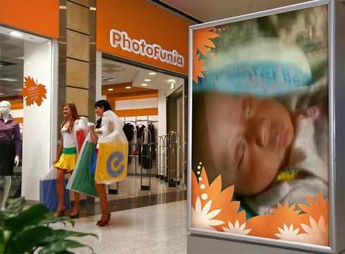 Lintang di Mall