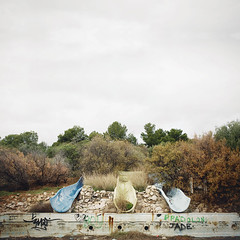 (Salva Lpez) Tags: park old parque people abandoned pool swimming no aquatic slides sitges parc ocio 2470l 90s paradis slalom turism abandonado acuatico toboganes 40d mellancholly