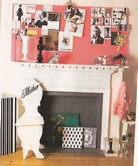 inspiration above fireplace (lorryx3) Tags: pink inspiration cute fireplace scan inspirationboard