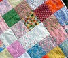 girly quilt detail