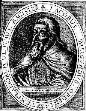 Jacques De Molay (Vitrey, 1243/1244 ou 1249/1250 - Paris, 18 de Março de 1314)
