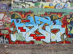 hurting (dr.kavorkian) Tags: life colors yard train oakland bay athletics dolphin low bricks bat tracks east killer tiny area coliseum hip burner wu stab 2008 willis bats lifes suger burners tang 3008 wbl as arser eaor diser tripdizzyizzle