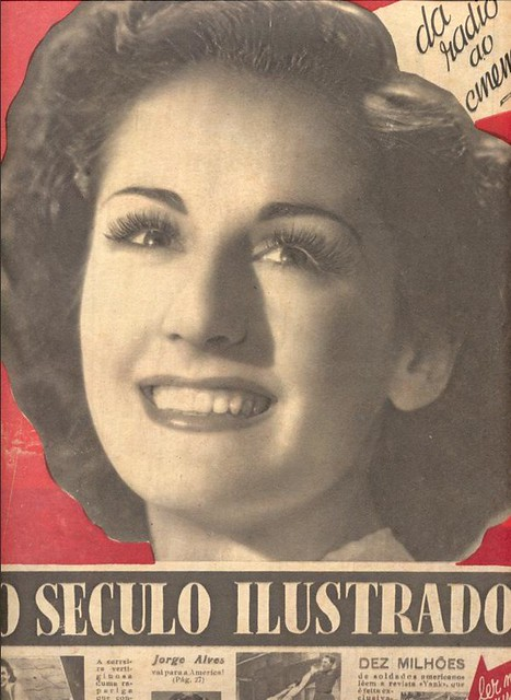 Seculo Ilustrado, 1940s, Milita Meireles
