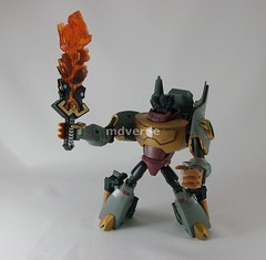 Transformers Grimlock Animated Voyager - modo robot (by mdverde)