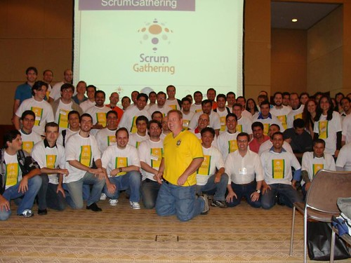 Palestrantes do Scrum Gathering Brazil
