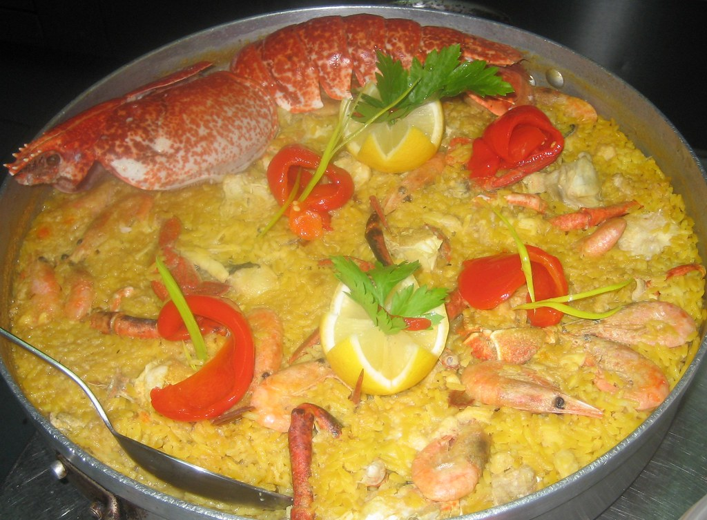 Arroces con mariscos