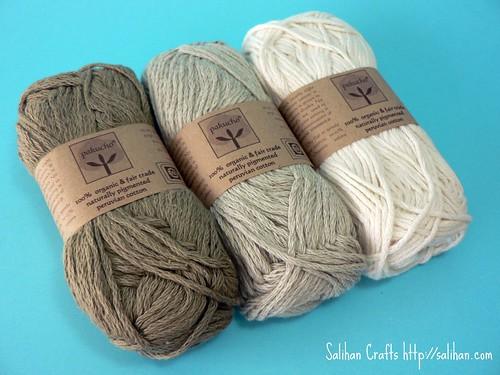Organic Cotton Knitted Washcloths Kit