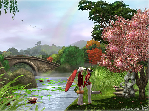 wallpaper ru. Check out the following wallpaper designed by Sims.miXei.ru – it comes in