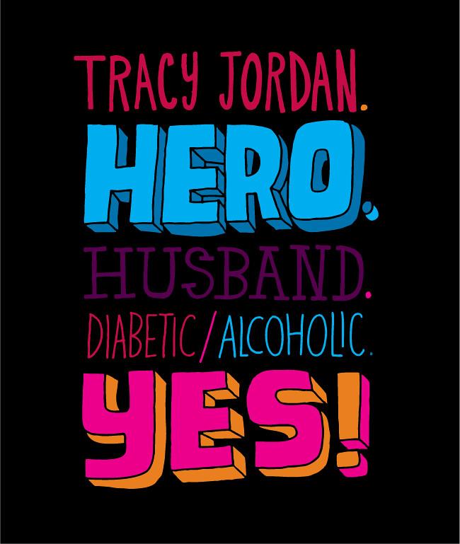 Tracy jordan season 5 of 30 Rock by Chris Piascik