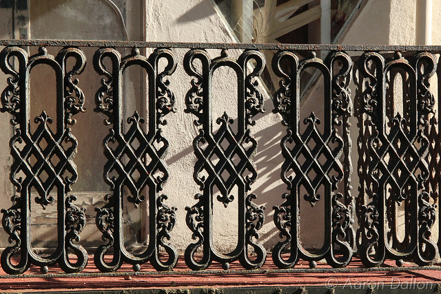 Ornate Wraught Iron Balcony Rail