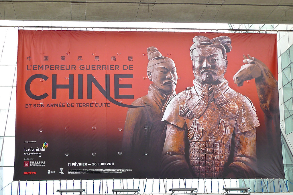 Copyright Photo: Warrior Emperor and China Terracotta Army Montreal Canada by Montreal Photo Daily, on Flickr
