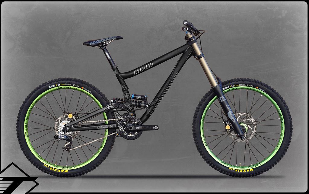 bike dhr black bg