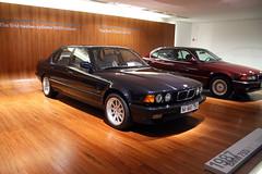 BMW 745i von 1987  - BMW Museum