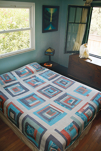 Once Around The Block Quilt by Alissa Haight Carlton