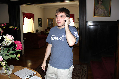 Phil C at Phone Bank