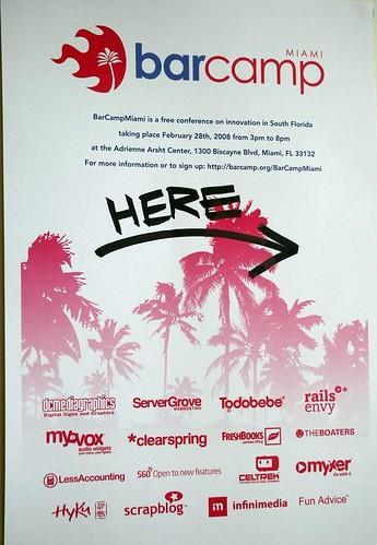 BarCamp Miami 2008