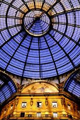 Galleria Vittorio Emanulele II #1  Milano (ubysideHi,i'mstillalive;)) Tags: italy milan architecture bravo italia gallery milano explore architettura italie galleria gallerie seeninexplore