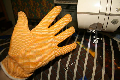 Grippy Gloves!