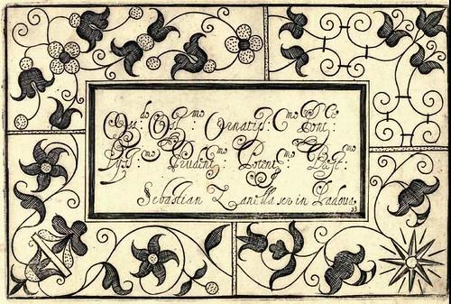 Bertozzi + Zanilla 1604 Lace Typography j