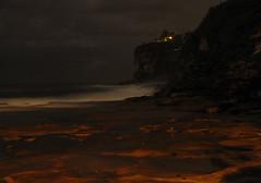Dee Why beach (maria_gabriella) Tags: longexposure beach water sand rocks waves nightshot sydney australia why dee deewhy northernbeaches deewhybeach