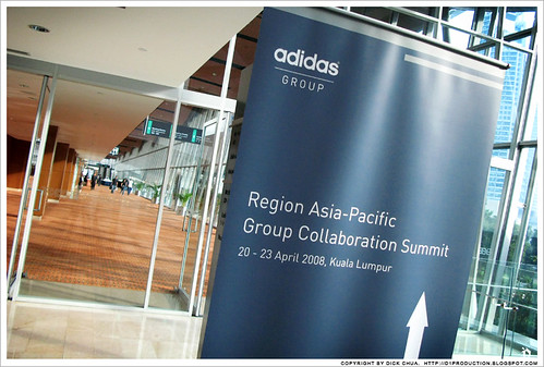ADIDAS group collaboration summit 2008