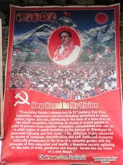 Trek and Yoga around Mt Everest, and discover New Nepal. (everestyogatrek) Tags: china hope peace communism maoists newnepal