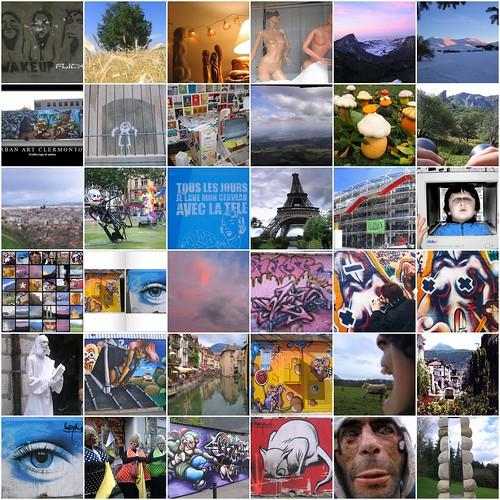 Mosaic des plus vues au 9/05/2008