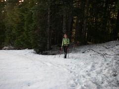 Lynda on Old Trail