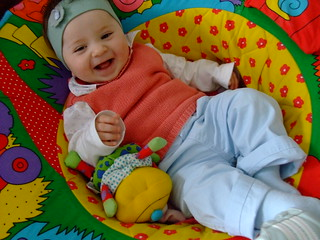 A alegria da minha filha!!