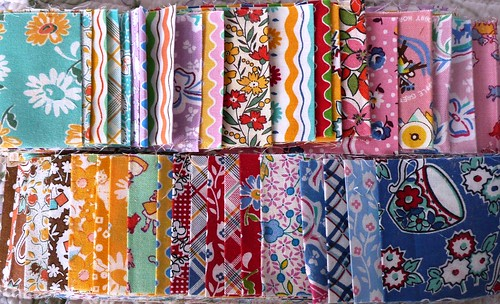 Reproduction fabric 2 inch strip set