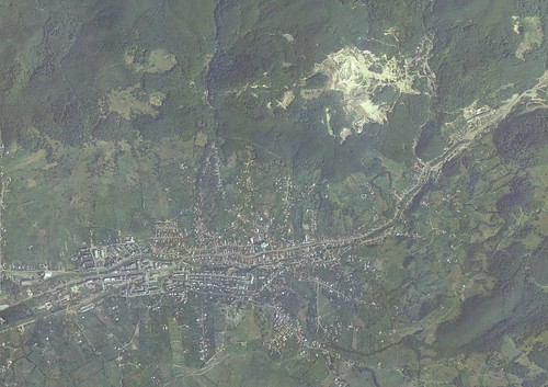 Baia Sprie - Satellite view - High Resolution