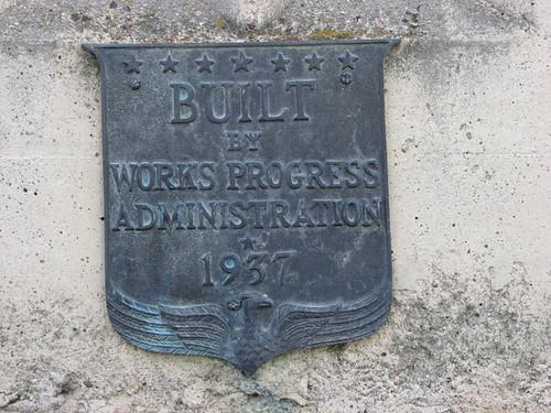 WPA Marker 1937